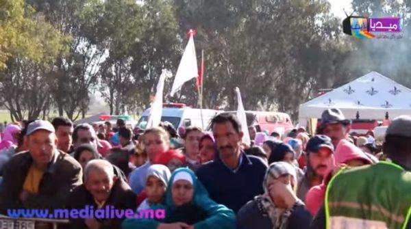 """بالفيديو : قبائل المجدبة تحيي  موسم الختان السنوي """"السابع """" بنواحي المحمدية"""