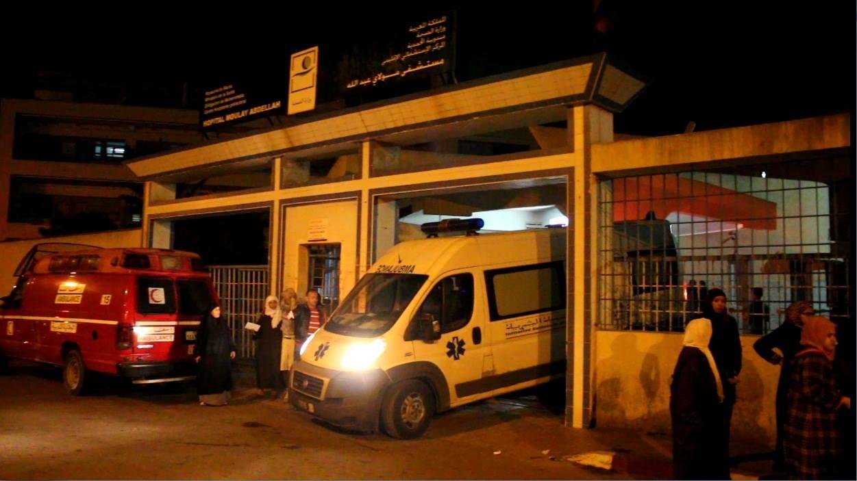 مرضى ومصابون يتعذبون داخل مستشفى مولاي عبد الله بالمحمدية