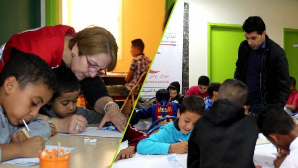 بمناسبة اليوم العالمي لحقوق الطفل ورشة للرسم والتوعية لفائدة الأطفال في وضعية صعبية