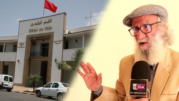 الفنان محمد العنقاوي : رئيس المجلس البلدي للمحمدية  منغلق على نفسه وبعيد كل البعد عن التسيير