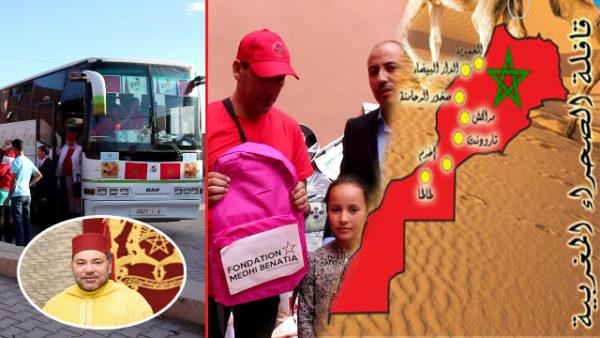 اختتام قافلة الصحراء المغربية لجمعية نهضة زناتة بعد مرورها بعدة مدن وقرى مغربية