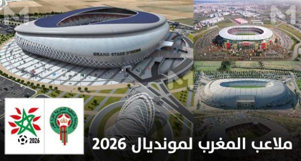رسميا.. الكشف عن ملاعب المغرب المرشحة لاحتضان مونديال 2026