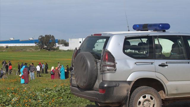 استنفار في صفوف الدرك الملكي ورجال الأمن بعد تهشيم سيارة اسعاف بالمحمدية