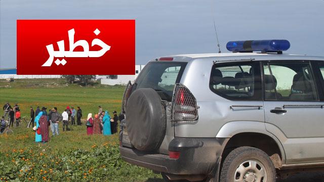 خطير !! سرقة أوراق وملفات سرية وحساسة خاصة بوزارة الداخلية بنواحي المحمدية