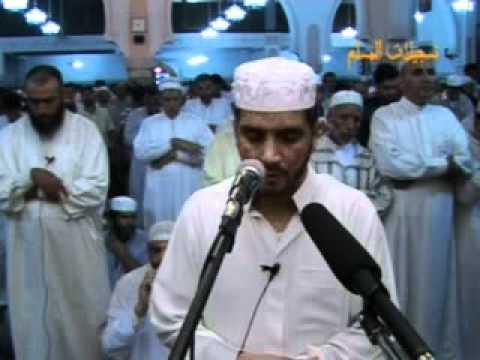 المقرء  الشهير العيون الكوشي يؤم صلاة التراويح بالمحمدية