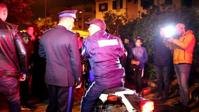 إعتقال عصابة اجرامية..كانت تعترض الطلبة وتقوم بسرقتهم بالسلاح الأبيض بالمحمدية