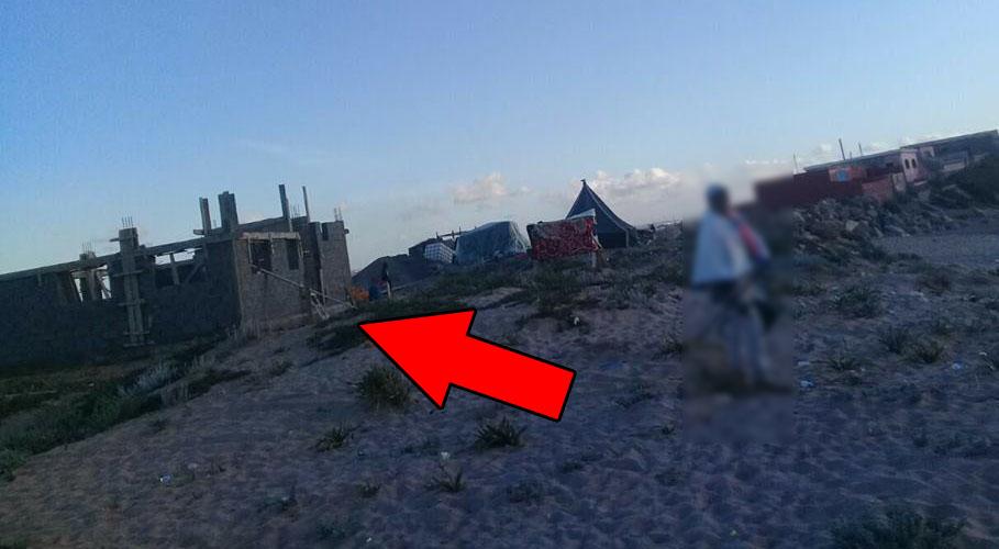 ما هو لغز وسر  هذه البناية بشاطئ أولاد حميمون بالمحمدية ؟
