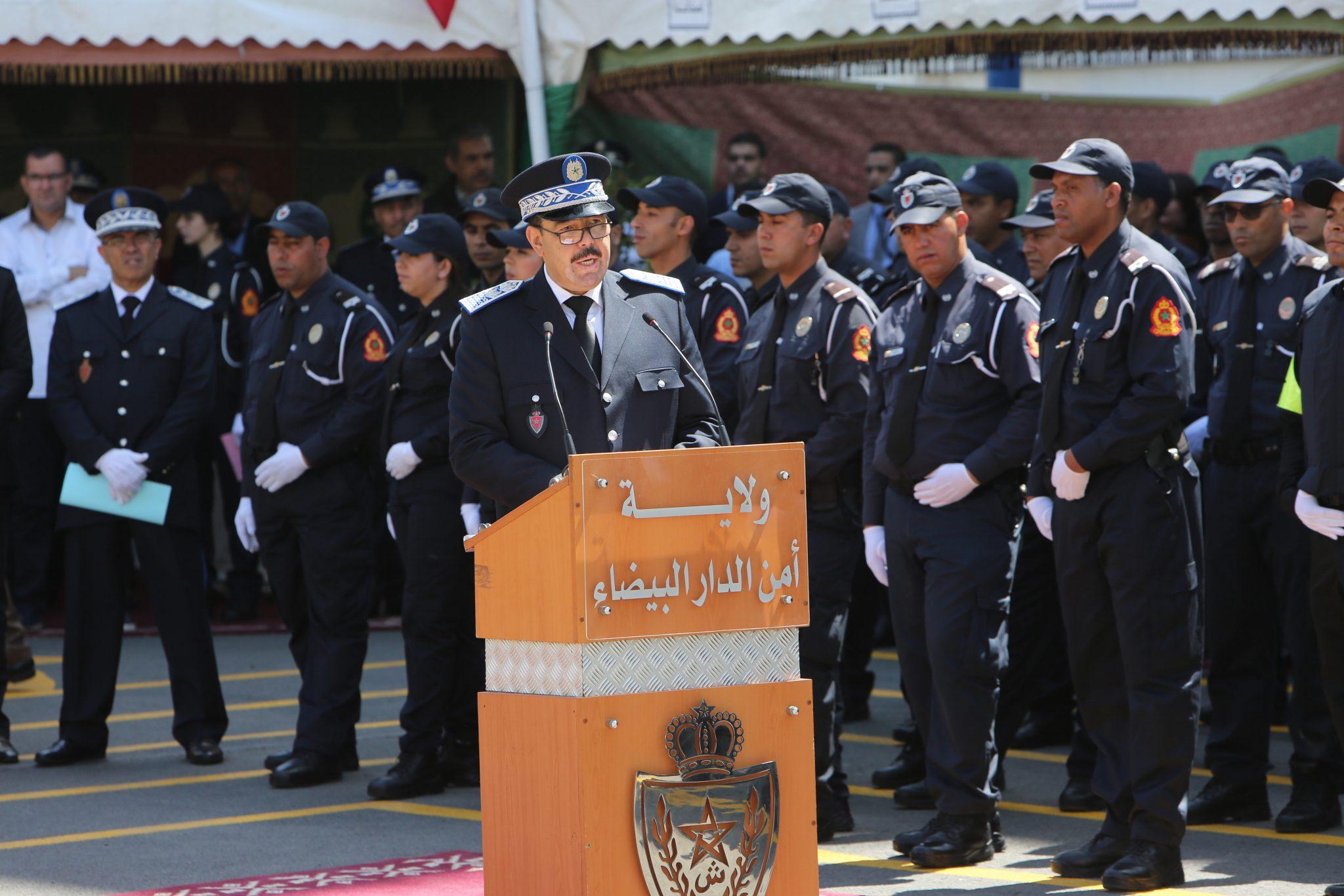 ولاية أمن الدارالبيضاء تحتفل بأبناء رجال الأمن المتفوقون في امتحانات الباكالوريا