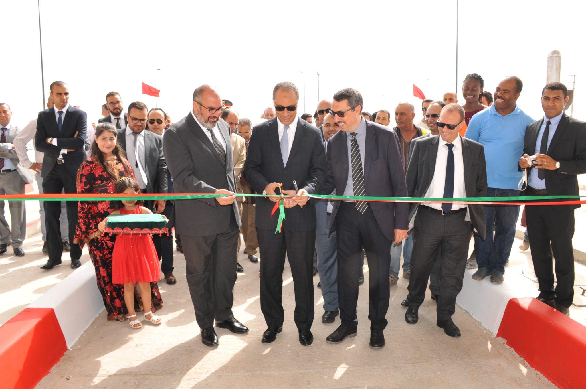 الشركة الوطنية للطرق السيارة بالمغرب  تفتتح البدال الجديد مركز المحمدية