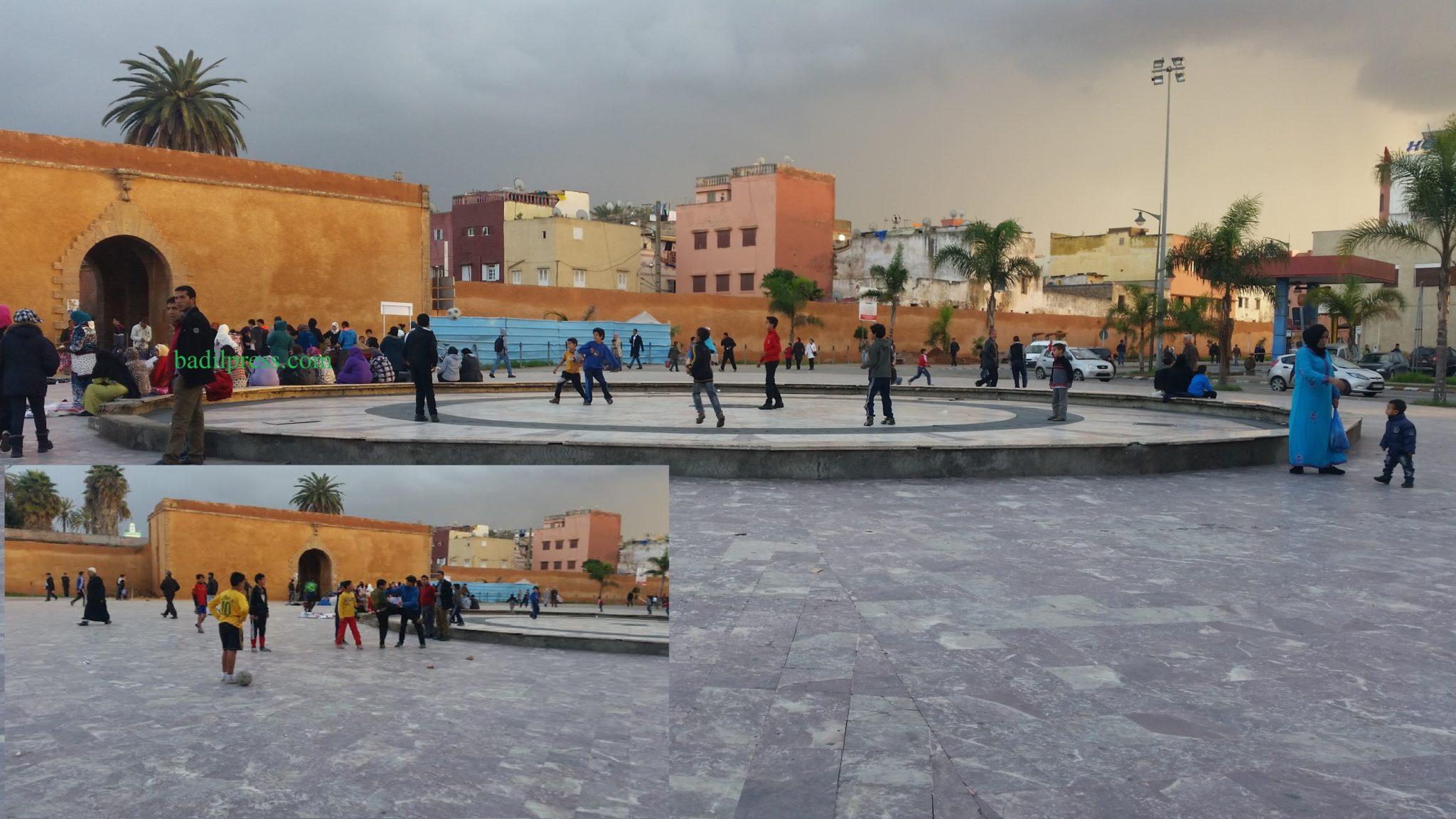 روائح كريهة  مجهولة تخنق أنفاس سكان المنطقة السفلى بمدينة المحمدية