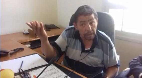 شوهة : سعيد التادلاوي يبهدل مدير موقع اخباري أمام أعين زملائه مباشرة على الهواء
