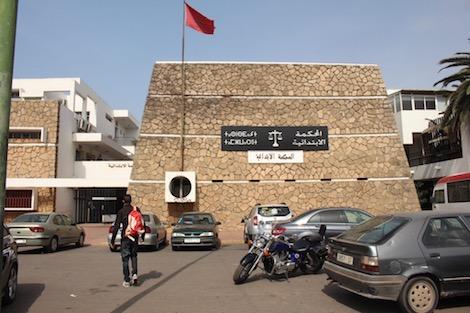 اعتقال مفتش شرطة في حالة سكر صباح يوم عيد الأضحى داخل محكمة المحمدية