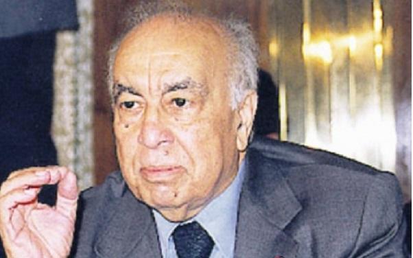 وفاة الوزير الأول السابق محمد كريم العمراني