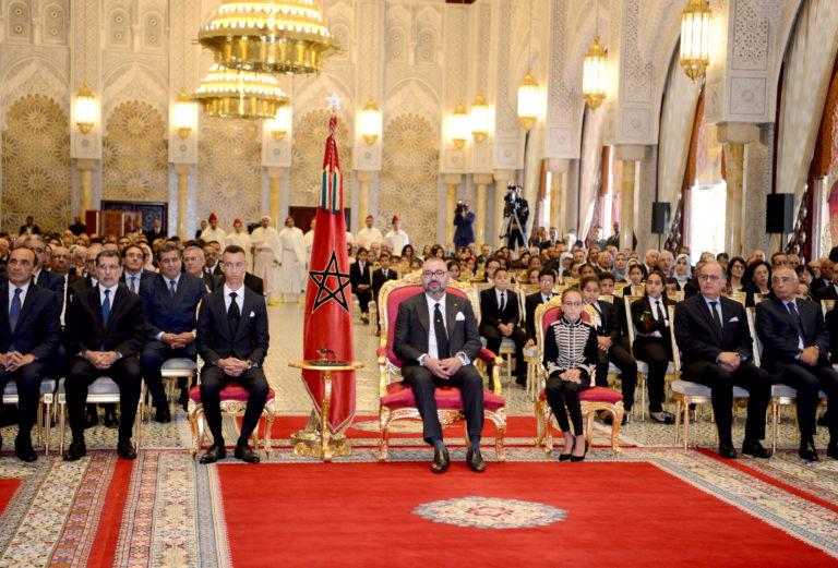 جلالة الملك يترأس حفل تقديم حصيلة دعم التمدرس وتنزيل إصلاح التربية والتكوين