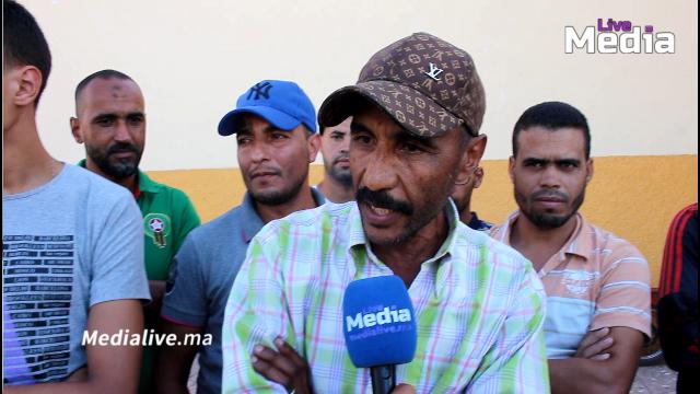 """الباعة الجائلين بساحة مالي بالمحمدية .. يستنكرون قرار """" القائد """""""