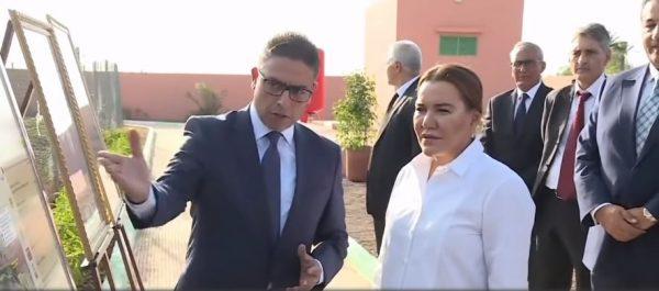 الأميرة للا حسناء تزور مشروعين نموذجيين ببرنامج حماية وتنمية واحة نخيل مراكش