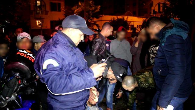 625 موقوف مع حجز خمور ومخدرات وأقراص  مهلوسة خلال  أسبوع بالمحمدية