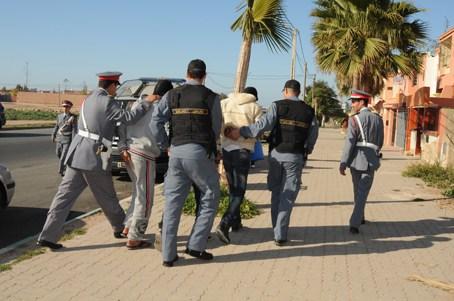 في زمن قياسي : درك بوزنيقة يلقي القبض على قاتلي شخص  أجنبي ببوزنيقة