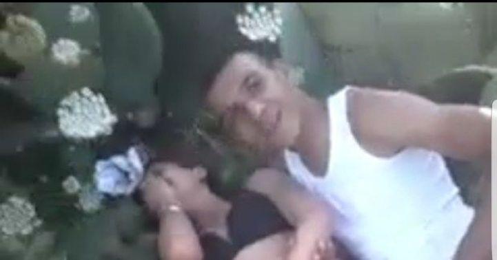 هذه هي حقيقة فيديو  اعتصاب فتاة عارية من طرف شابين