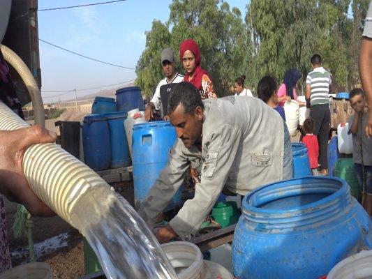 العطش يخيم على كافة سكان دواوير جماعة الشلالات بالمحمدية