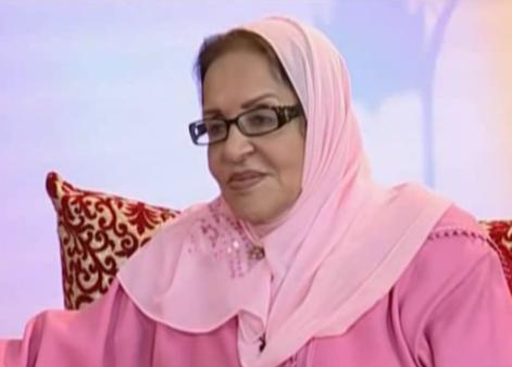 """الفنانة المغربية خديجة جمال التي شاركت في سلسلة """" لالة فاطمة """"  في ذمة الله"""