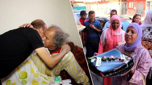 جمعية نهضة زناتة تزور الفنان المغربي محمد القلع بعد العملية الجراحية التي اجراها مؤخرا
