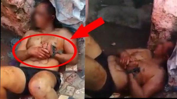 الشخص الذي ضهر مكبل في شريط فيديو والذين عذبوه  يقطنون بعين حرودة
