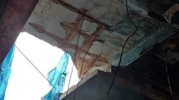انهيار بسقف  السوق البلدي طارق يُرسل 4 نساء إلى مستعجلات بالبرنوصي