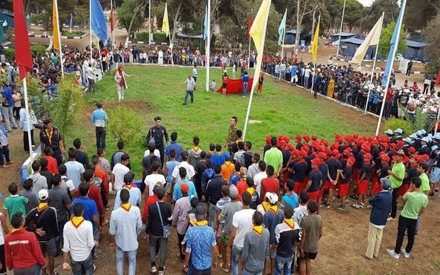 الجامعة الوطنية للتخييم،تنظم حفل الوفاء ببوزنيقة
