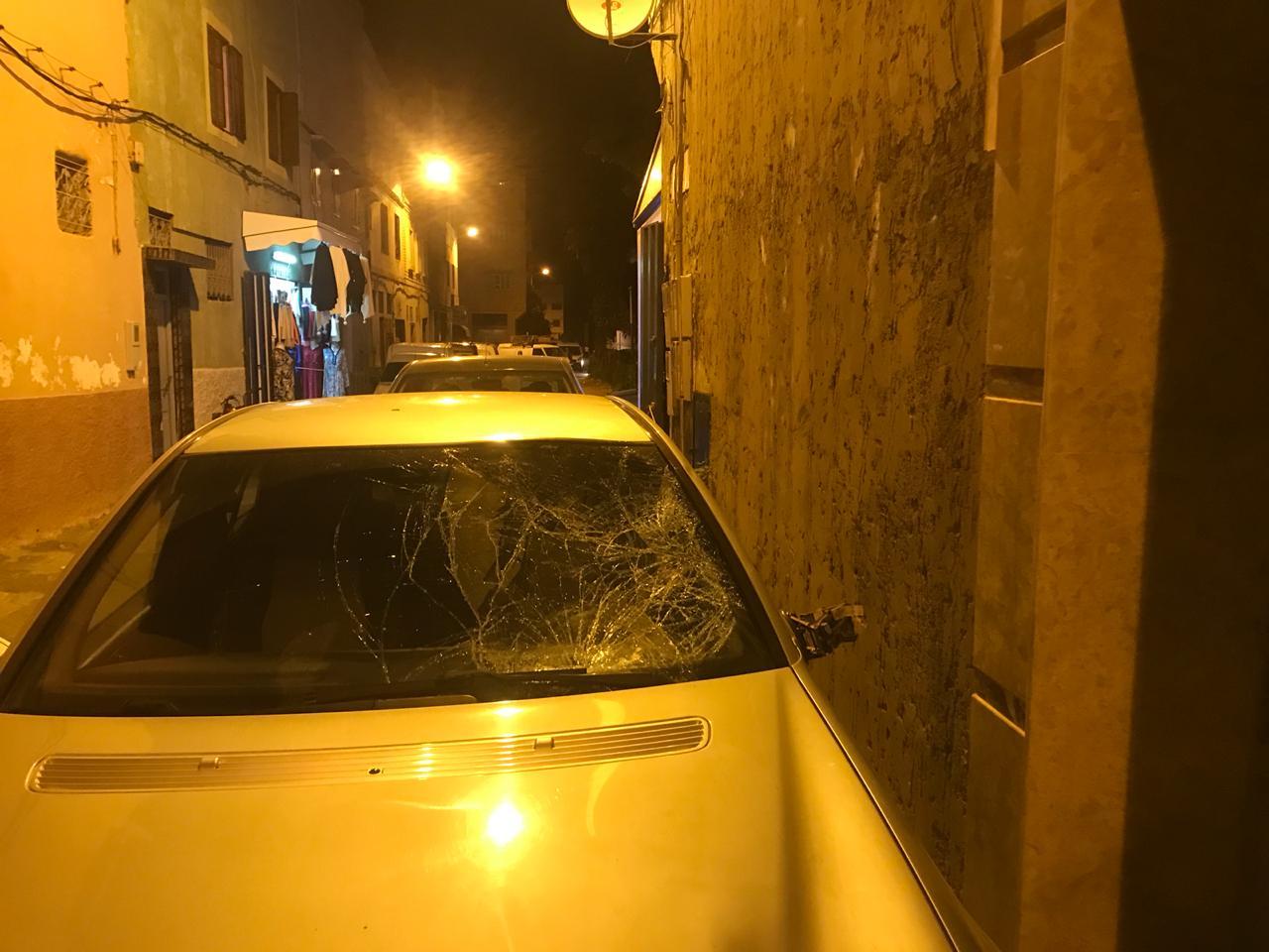 اعتقال سائق سيارة  بالمحمدية  فر بعد  قتله لتلميذة وإرسال زميلها في غيبوبة بجماعة الشلالات