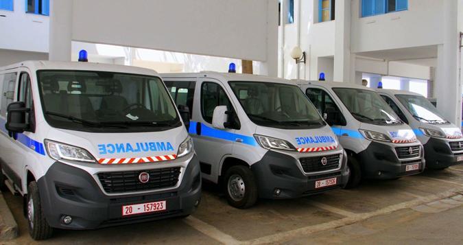 مدينة بن سليمان تستفيد من سيارات اسعاف مجهزة بمعدات طبية