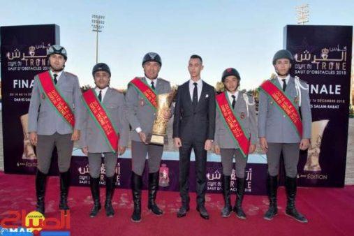 الأمير مولاي الحسن يترأس نهاية كأس العرش للقفز على الحواجز بالرباط