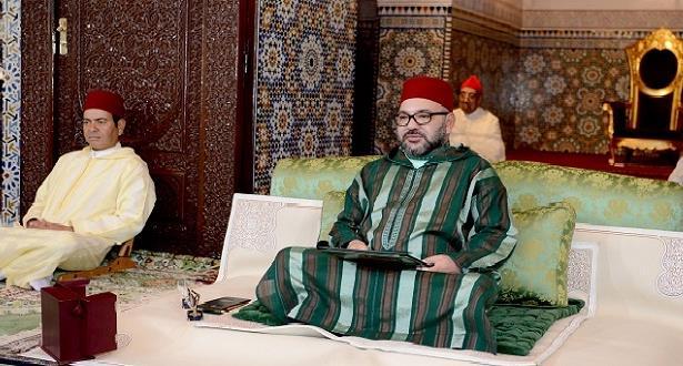 أمير المؤمنين يترأس اليوم الإثنين بالرباط حفلا دينيا بمناسبة الذكرى العشرين لوفاة جلالة المغفور له الملك الحسن الثاني