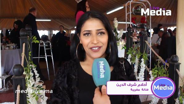 الفنانة المغربية المتألقة احلام شرف الدين تتحدت عن جديدها واعمالها الرمضانية