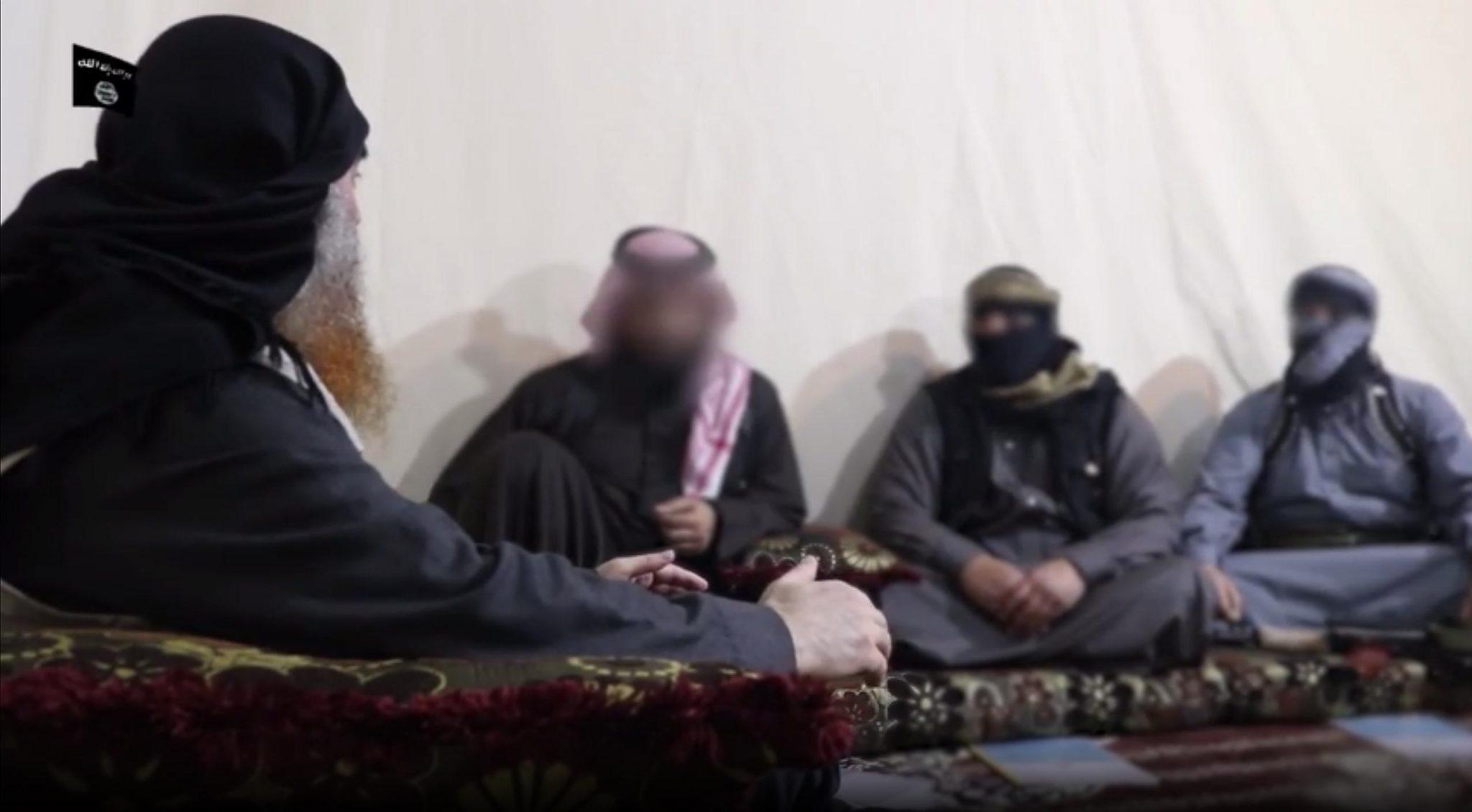 بعد اختفائه لمدة 5 سنوات ،البغدادي يظهر بفيديو حياً بلحية محناة: المعركة انتهت