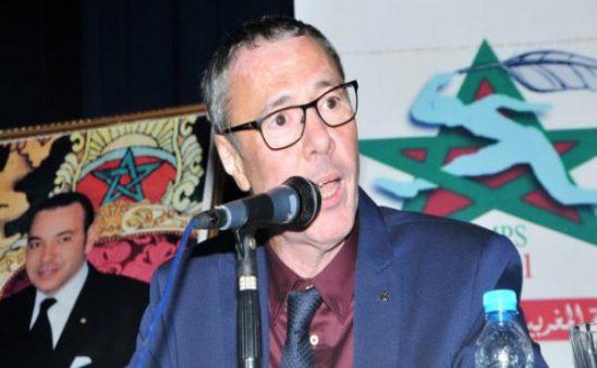 إعادة انتخاب بدر الدين الإدريسي نائبا لرئيس الاتحاد العربي للصحافة الرياضية لولاية جديدة