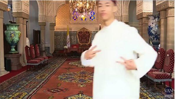 لقطة رائعة لولي العهد الأمير مولاي الحسن ، كم يستحق عليها من جيم؟