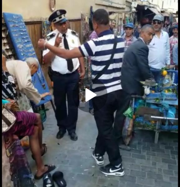 مديرية الأمن تكشف معطيات مثيرة في واقعة الفيديو المتداول الذي يظهر فيه شاب يعربد على ضابط شرطة