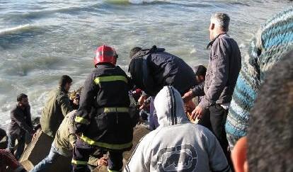المحمدية … انتشال جثة  ضابط الشرطة الذي غرق بشاطئ لا فاليز