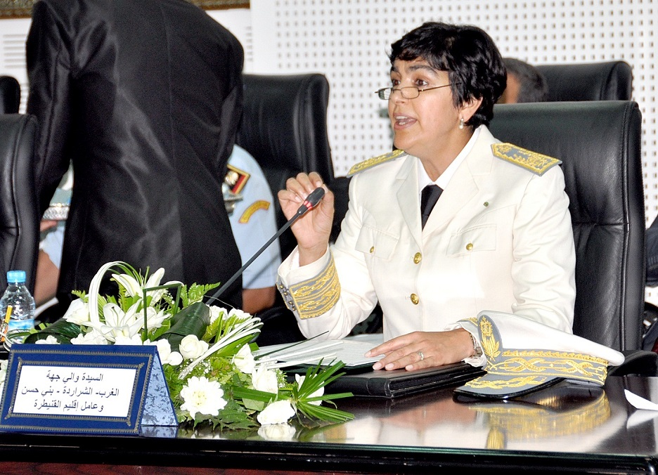 سابقة ،أول امرأة مرشحة لمنصب وزير الداخلية