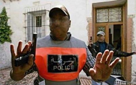 مكناس..  مفتش شرطة  يستعمل  سلاحه من أجل توقيف مروج للمخدرات