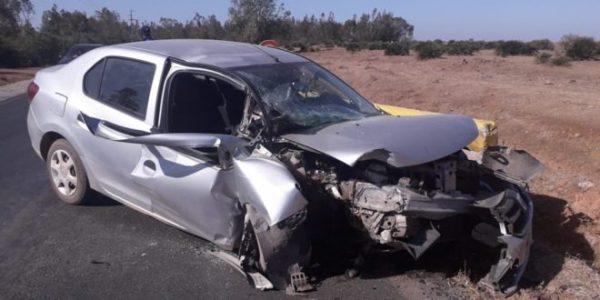 بن سليمان …إصابة ثلاث أستاذات بجروح خطيرة في حادثة سير