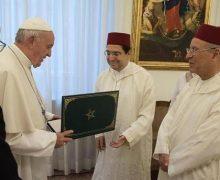 بالصور: ناصر بوريطة يسلم بابا الفاتيكان رسالة خطية من جلالة الملك محمد السادس