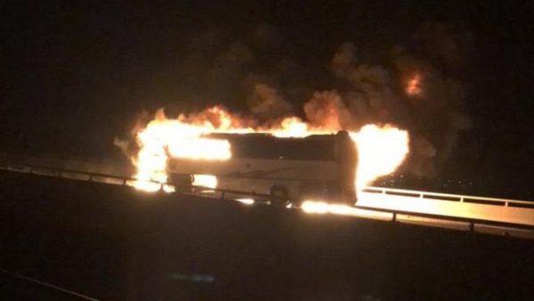 السعودية … وفاة 35 معتمرا حوصروا بين الحديد والنيران في حاذثة سير