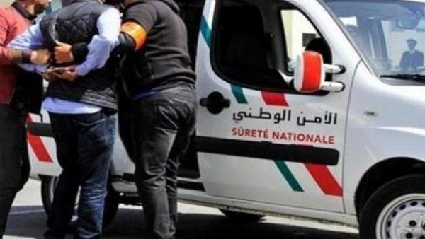 المحمدية …أمن البيضاء يعتقل مروجا للمخدرات بجماعة بني يخلف وبحوزته أسلحة بيضاء