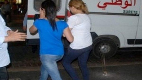 """المحمدية ….ضبط سعوديين وطالبات داخل """" فيلا """""""