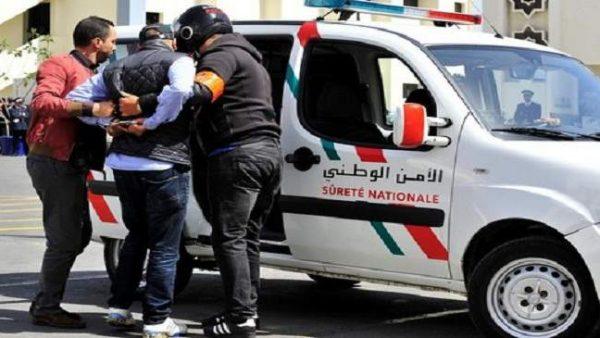 طنجة …توقيف مبحوت عنه صدرت في حقه 25 برقية بحث