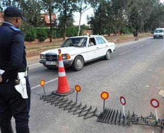 """""""براجات  """" مختلفة بالعديد من المدن المغربية بسبب سرقة مسدس دركي"""