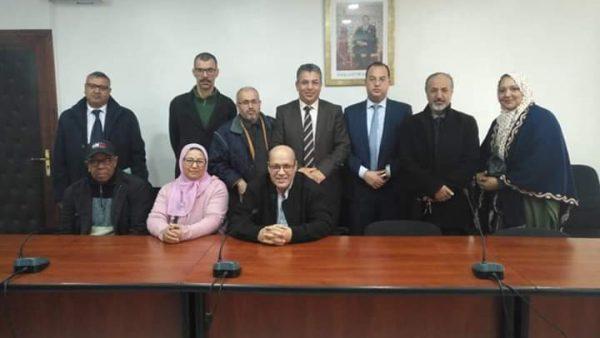 البرنوصي …رابطة جمعيات سيدي مومن  تعقد اجتماعا مع الكاتب العام لعمالة مقاطعات البرنوصي