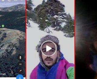 الحسيمة …انقاد شابين من الموت وسط التلوج في جبل